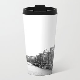 canal in Amsterdam Metal Travel Mug