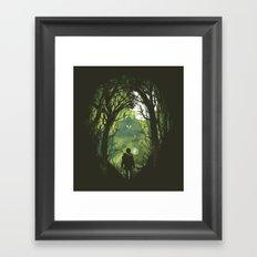 It's dangerous to go alone Framed Art Print