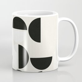 Black Petals Coffee Mug