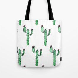 Cactus Flower II Pattern Tote Bag