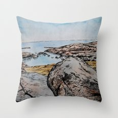 Take Me Down To The Water  Throw Pillow