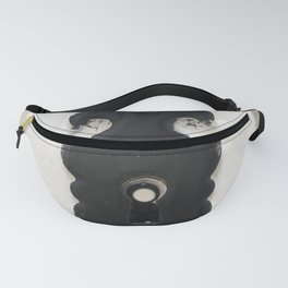 Keyhole in black and white Fanny Pack
