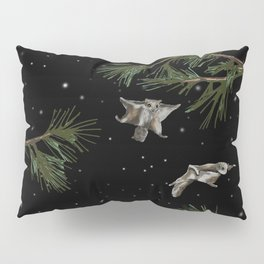 FLYING SQUIRRELS IN THE PINES Pillow Sham