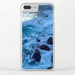 Beautiful water at Kamay Botany Bay National Park, Sydney, NSW, Australia Clear iPhone Case