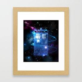 T.A.R.D.I.S. Framed Art Print