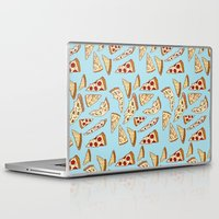 tumblr Laptop & iPad Skins featuring Pizza Tumblr by Hipster's Wonderland