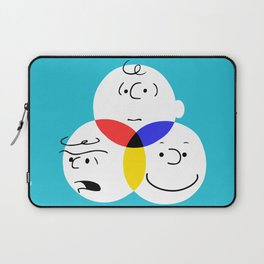 Charlie Brown, colour wheel Laptop Sleeve