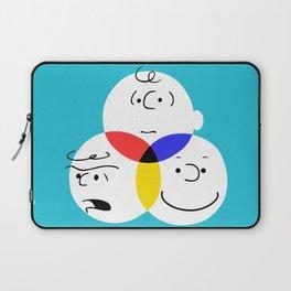 Charlie Brown, colour wheel Laptop Sleeve