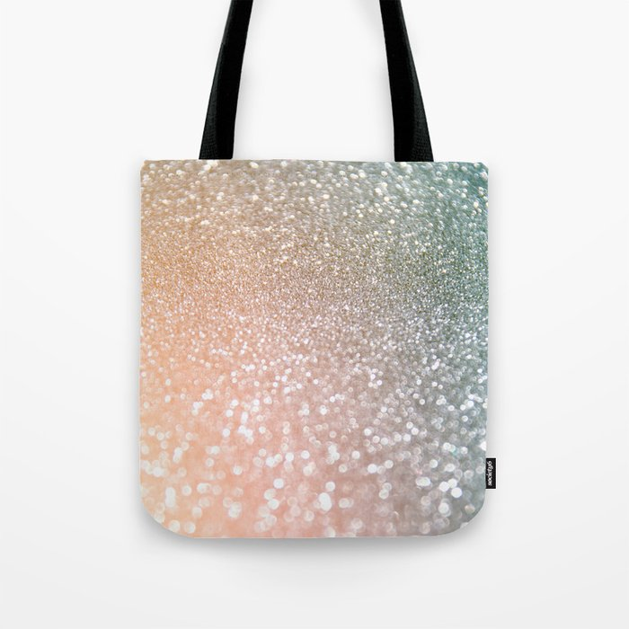 Rosequartz Rose Gold Glitter Pink Luxury Sparkling Design Tote Bag