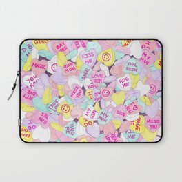 Candy Hearts (Sweet Hearts-inspired) Laptop Sleeve