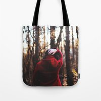 lost in translation Tote Bags featuring lost in translation  by Sam Marie English