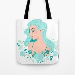 She was like the Ocean Tote Bag