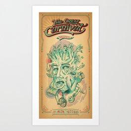 The Amazing Multitasker Art Print
