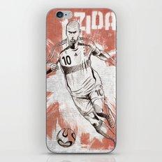 Zinedine Zidane iPhone & iPod Skin