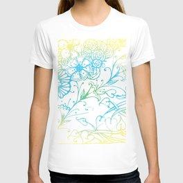 Floral Colorful Zenart Doodle Design 4 T-shirt