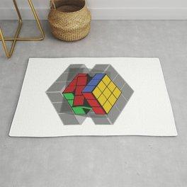 Rubiks Shadow Rug