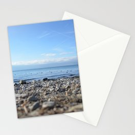 Rocky Beach Descent Stationery Cards