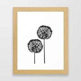 Dark seed Framed Art Print