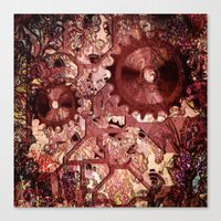 steampunk Canvas Prints featuring Steampunk by MehrFarbeimLeben