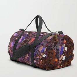The Fractal Heart Duffle Bag