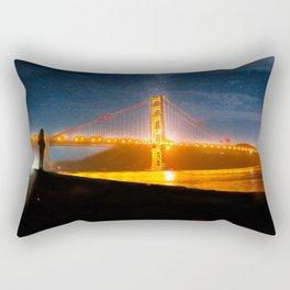 Golden Gate Dreams Rectangular Pillow