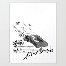 AutoCUNT 037 Art Print