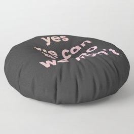 motto Floor Pillow