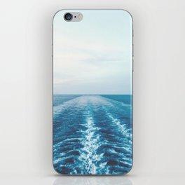 boat trail iPhone Skin