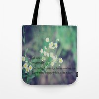 jane austen Tote Bags featuring Friends Jane Austen by KimberosePhotography
