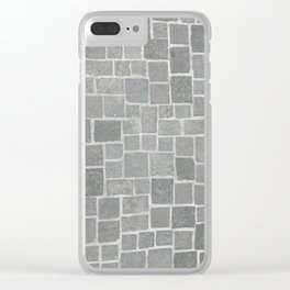 Cobblestones - Art Photography Clear iPhone Case
