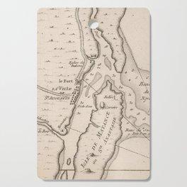 Vintage Map of St Augustine FL (1764) Cutting Board
