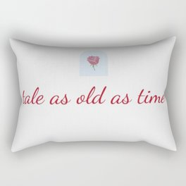 tale as old as time Rectangular Pillow