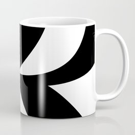 Hidden Letters. Baskerville R Coffee Mug