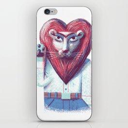 Lion's heart iPhone Skin