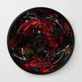Modern  Abstract Art Design Wall Clock