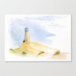 Lighthouse Impressions IV Canvas Print