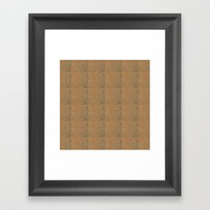 Cork Framed Art Print