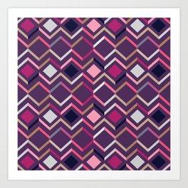Modern Angles Style B Art Print