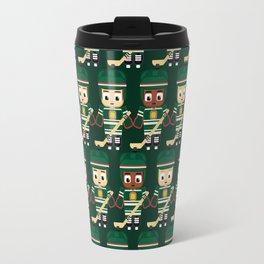 Super cute sports stars - Ice Hockey Green Travel Mug