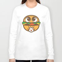 pagan Long Sleeve T-shirts featuring Pagan Burger by Pagan Holladay