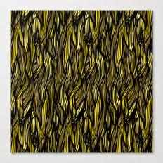 Hair Pattern Canvas Print