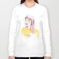 ufo Long Sleeve T-shirts featuring UFO by Belén Segarra