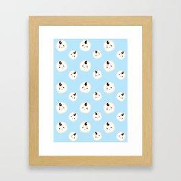 Goblin Pattern Framed Art Print