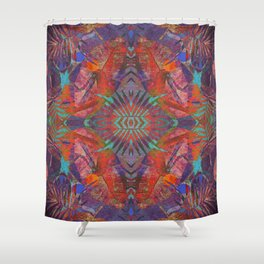 Weaving Colors Shower Curtain