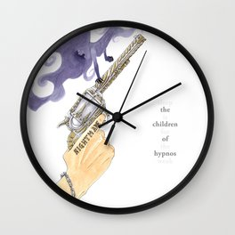 The Children of Hypnos Wall Clock