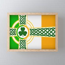Celtic Irish Flag Framed Mini Art Print