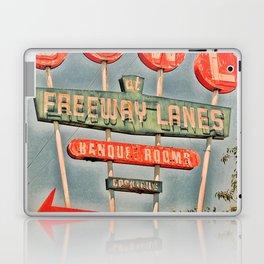 Freeway Lanes Bowl - Selma, CA Laptop & iPad Skin