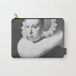 Rembrandt - Portrait of a Woman with Millstone Collar Carry-All Pouch