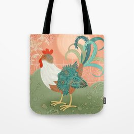 I've Got To Crow Tote Bag
