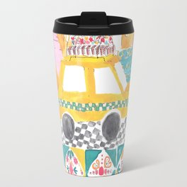 Big Yellow Taxi Travel Mug